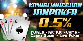 Komisi Mingguan Poker